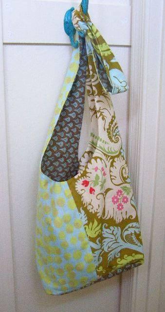 Free Bag Pattern and Tutorial - Boho Sling Bag