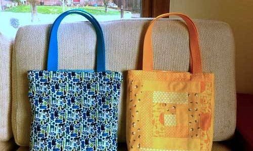 Patchwork Tote Bag Pattern