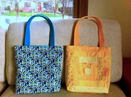 Patchwork Tote Bag - Free Sewing Tutorial - Love to Sew