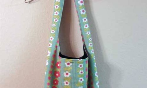 Reversible Shoulder Bag – Free Sewing Tutorial