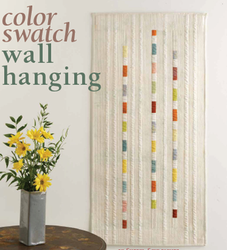 Color Swatch Quilt – Free Quilt Pattern