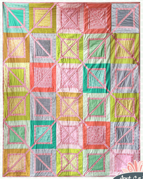 Outside the Box Quilt – Free Quilt Pattern