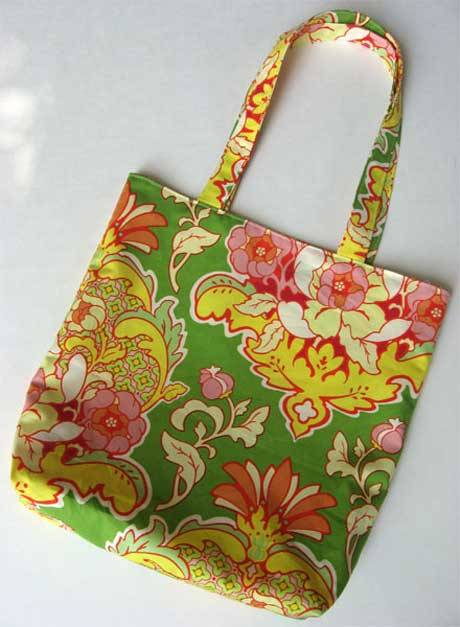 Simple Reversible Tote - Free Sewing Tutorial - Love to Sew