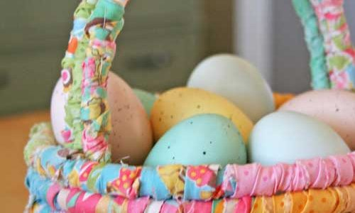 Fabric Easter Basket – Free Sewing Tutorial