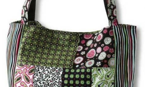 Paisley & Print Patchwork Bag – Free Sewing Pattern