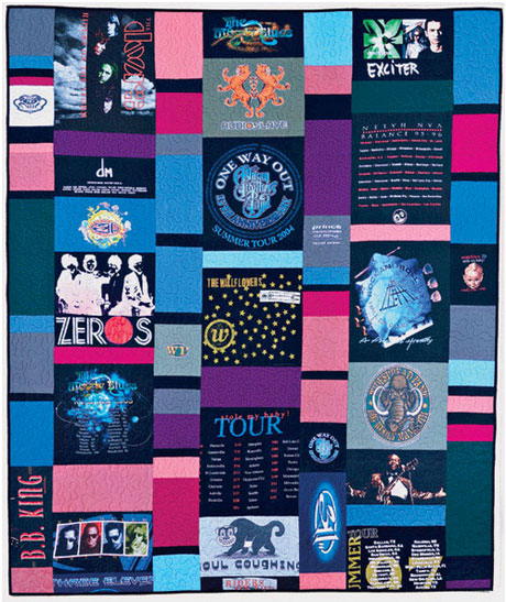 T Shirt Quilt Free Quilt Tutorial Love To Sew