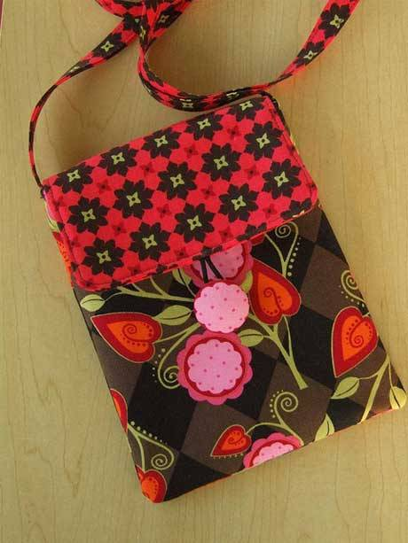 Free Purse Pattern and Tutorial - Travel Purse