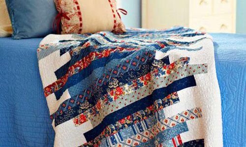 Skinny Strips Quilt – Free Quilting Tutorial