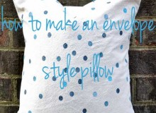 Confetti Dots Pillow – Free Sewing Tutorial