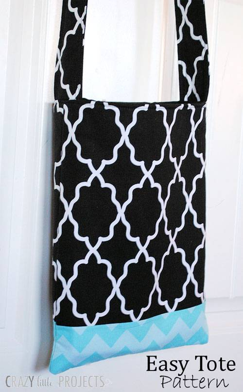 Easy Tote Bag - Free Sewing Pattern - Love to Sew