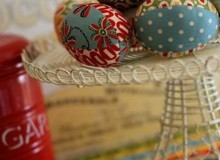 Fabric Easter Eggs – Free Sewing Tutorial