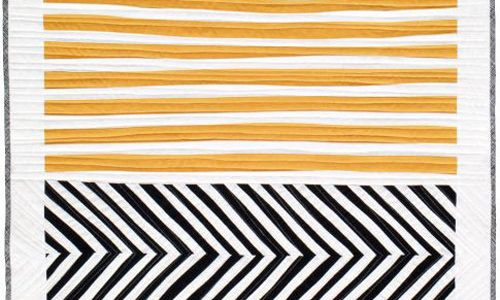 Stripes and Herringbone Quilt – Free Quilt Pattern