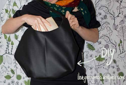 DIY Faux Leather Bag - Free Sewing Tutorial - Love to Sew