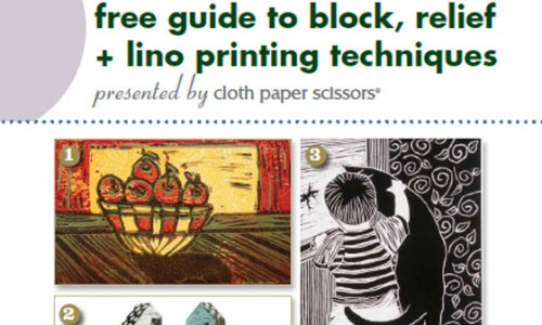 Free eBook: Block Printing Techniques