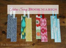 Fabric Scrap Bookmarks – Free Sewing Tutorial