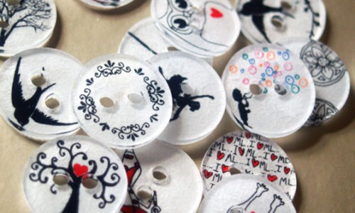 How to Make Buttons from Shrink Plastic