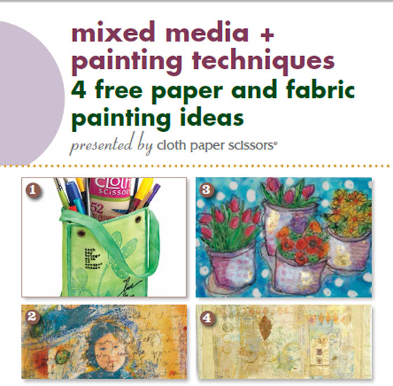 Free eBook: Mixed Media and Painting Techniques