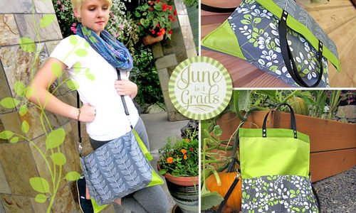 Free Bag Pattern and Tutorial - Simple Fold Over Clutch