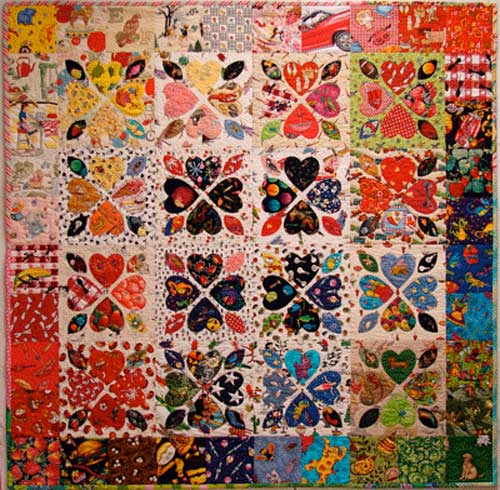 Free Quilt Patterns With Hearts : Have a Heart Quilt