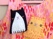 Kitty Brooch – Free Sewing Tutorial