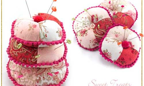 Three Tier Stacked Pin Cushion Trio – Free Sewing Tutorial