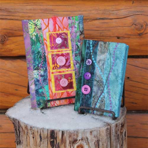 Free Quilted Paperback Book Cover Pattern : Quilted book covers free sewing tutorial love to sew