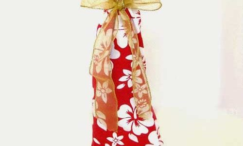 Upcycled Wine Gift Bag – Free Sewing Tutorial