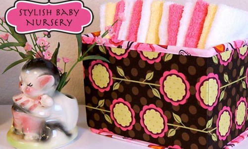 Collapsible Fabric Storage Baskets – Free Sewing Pattern