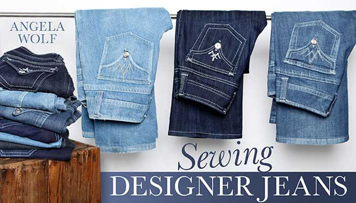 Sewing Designer Jeans: Online Sewing Class