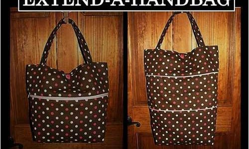 Free Bag Pattern and Tutorial - Extend-A-Handbag