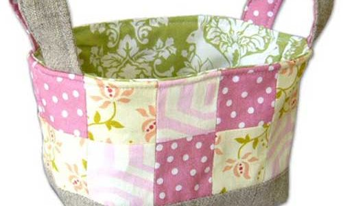 Fabric Basket – Free Sewing Tutorial