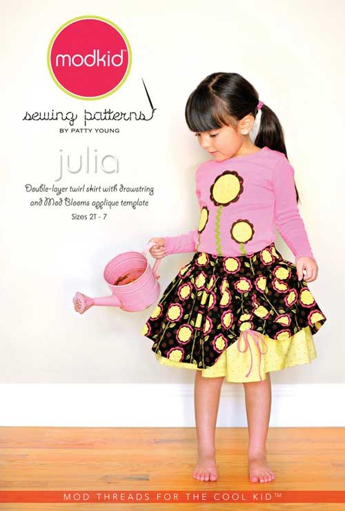 This cute sewing pattern is designed with the beginning sewer in mind and is as easy to sew as it is to wear.