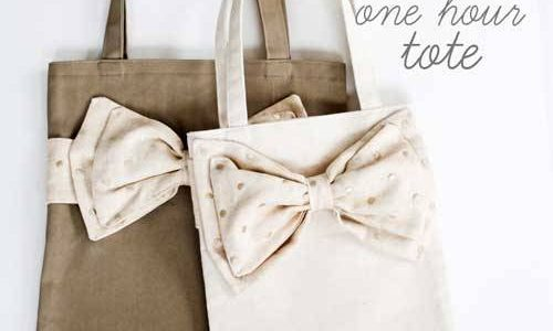 One Hour Tote – Free Sewing Tutorial