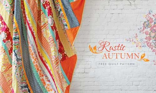 Rustic Autumn Quilt – Free Quilt Pattern