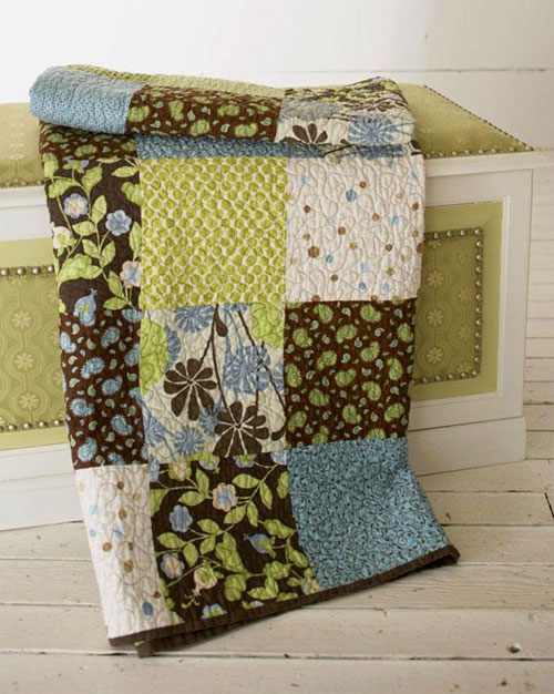 Free Quilt Pattern and Tutorial - Big Block Style Quilt