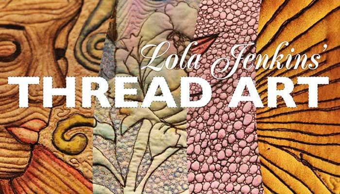 Zentangle quilt free quilting tutorial for Hand thread painting tutorial