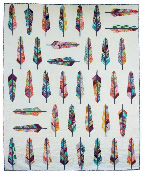 Free Quilt Pattern - Feather Bed Quilt Pattern