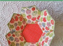 Hexagonal Fabric Bowl – Free Sewing Pattern