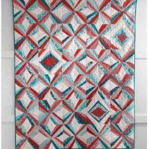 Mod Pinwheel Quilt – Free Quilt Pattern