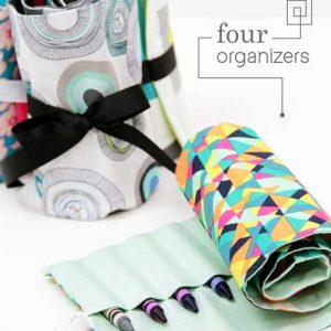One Pattern Four Organizers – Free Sewing Pattern