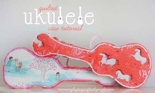 Quilted Ukulele Case – Free Sewing Pattern