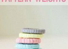 Simple and Easy Pattern Weights – Free Sewing Tutorial