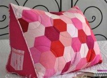 Triple Hex Reading Pillow Pattern