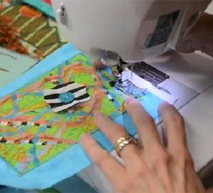 Video Tutorial: Surface Design Quilted Postcard
