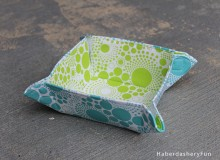Collapsible Fabric Bowls Sewing Tutorial