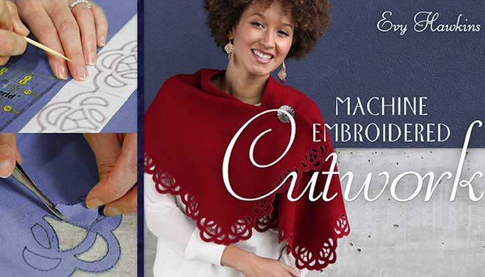 Machine Embroidered Cutwork Online Class