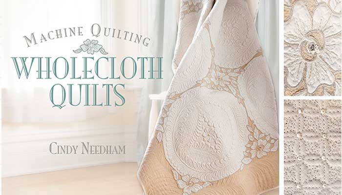 Machine Quilting Wholecloth Quilts: Online Quilting Class