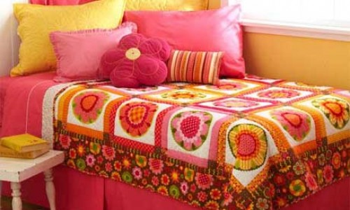 Fast Flowers Quilt – Free Quilt Tutorial