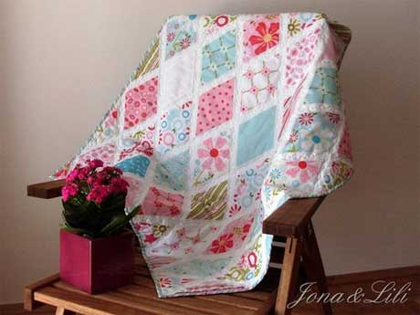 Sweet Divinity Diamond Quilt Pattern