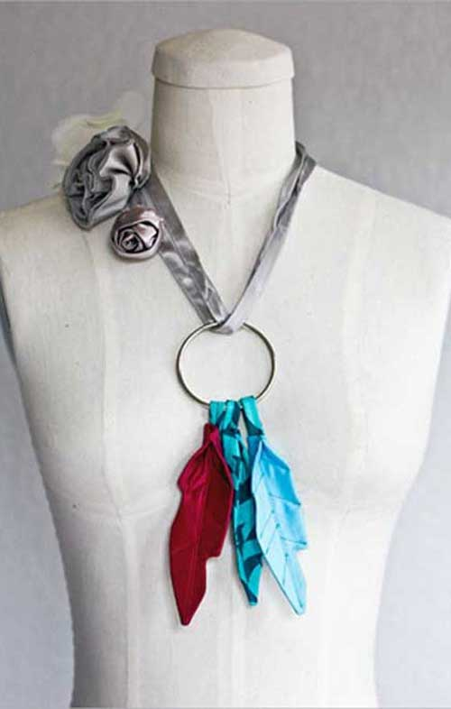 Free Sewing Tutorial - Fabric Feathers